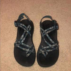 Chacos Teal&White Women's